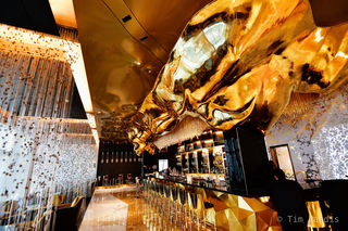 27 karat bar, golden bar