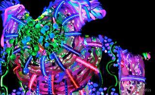 a massive malestrom of color,