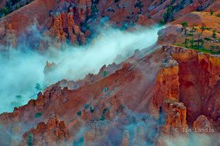 Bryce, Bryce NP, Utah, clouds, hoodoos, storm clearing, waterdogs