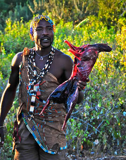 Bushman, Hadak, hunters, primative peoples, tribesman, wildman