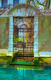 Iron Gate of Ancient Estate