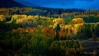 last light of the day, Breckenridge, colorado