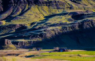 Little ranch in iceland