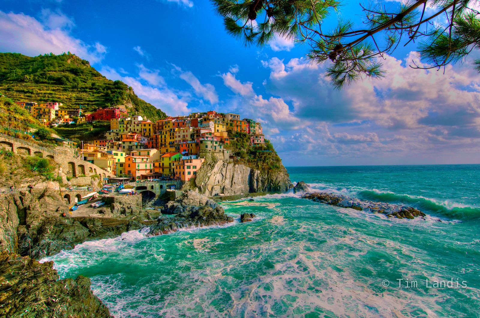 Italy, cinque Tierra, fishing village, photo