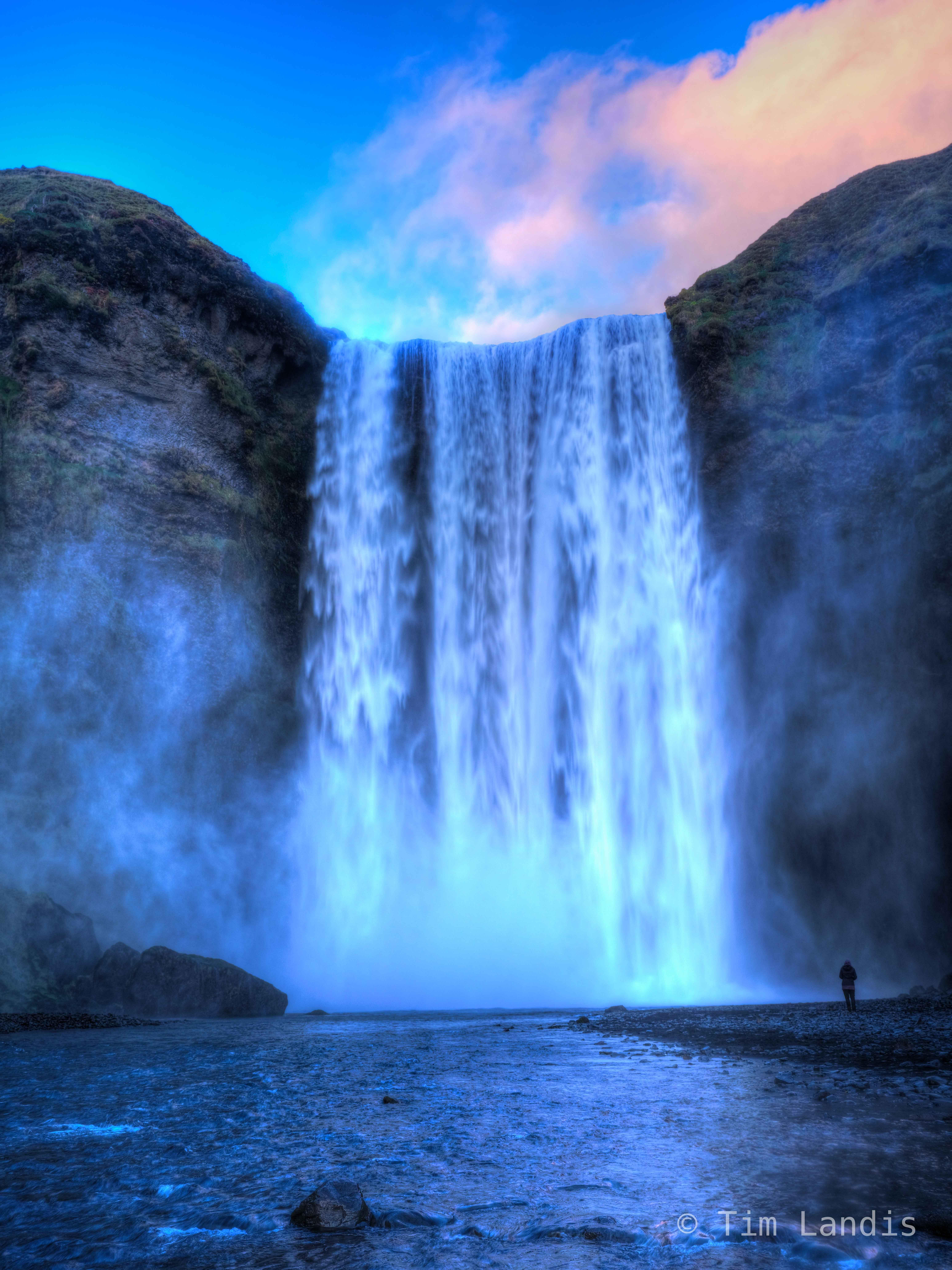 Iceland, skogafoss, waterfalls, photo